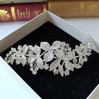 Сплав rinestone невесты frontlet Корона индийский головные уборы, свадебные прически аксессуары bijoux cheveux