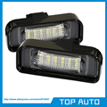 1Pair Super White 18SMD Led License Plate Light for Mercedes Benz W220 S Class S500 S55 S600