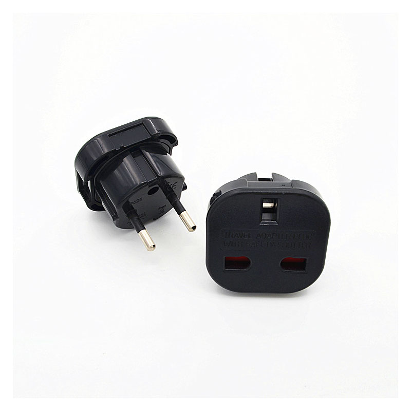5Pcs Universal Travel Adapte EU plug Adapter Converter Power Plug Adaptor 250V 10A