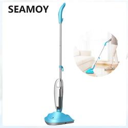 Gospodarstwa domowego wielofunkcyjny Mop parowy sterylizacji Cleaner wysokiej temperatury ręczny podłogi maszyna do czyszczenia dywanów zamiatarka w Elektryczne mopy do podłogi od AGD na