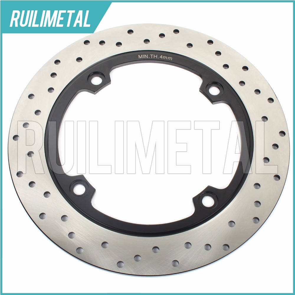 Rear Brake Disc Rotor for DL 650 V-Storm  ABS DL 650 V-Strom Traveller DL 650 V-Strom X 2007 2008 2009 2010 2011 2012 car rear trunk security shield cargo cover for jeep compass 2007 2008 2009 2010 2011 high qualit auto accessories