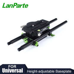 Lanparte Hight Adjustable Baseplate 501 Version with Quick Release Design for DSLR Camera