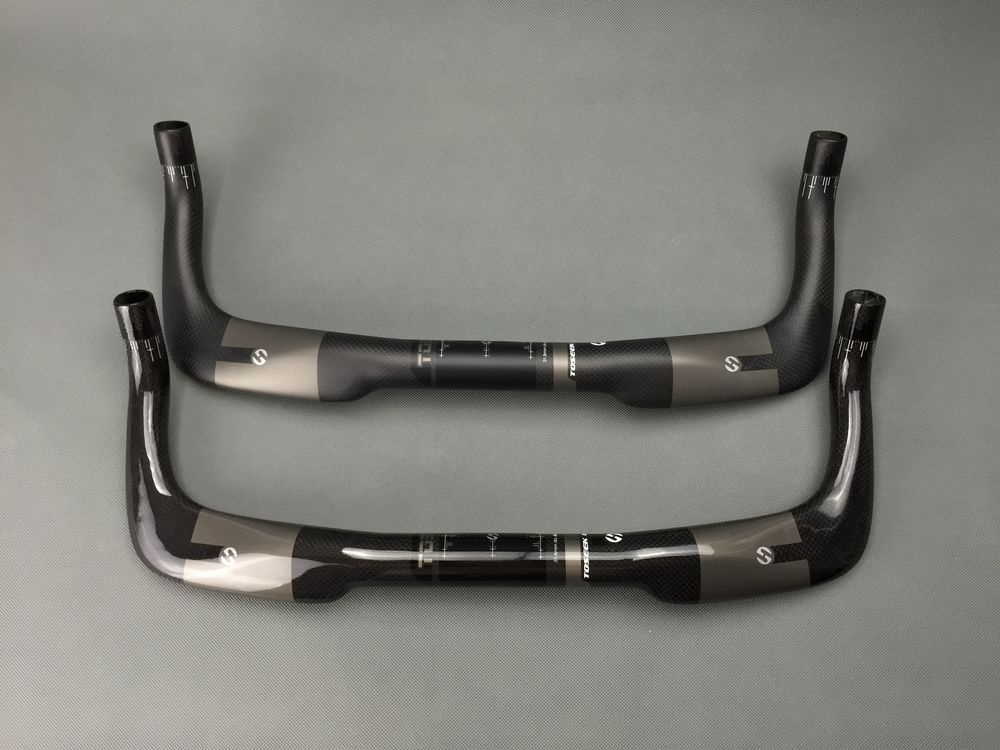 Full Carbon Fibre Bicycle Handlebars Mountain Bicycle Accessories Cycling Parts Road Bike Handlebar Integrated Rest Handlerbar