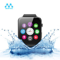 MEMTEQ Bluetooth V4.0 NFC function Smart Watch Smartwatch GT88 Android IOS 2G GSM SIM TF Card ECG monitoring