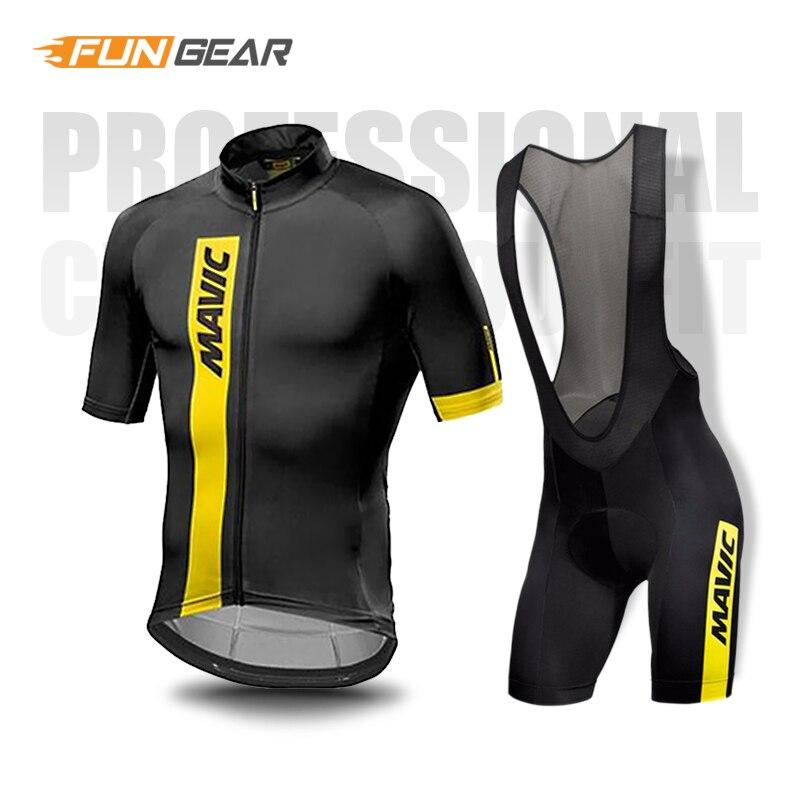 Ropa Ciclismo Maillot Bike Uniform Cycling Clothing set /Road Bike Wear Racing Clothes Quick Dry Men's Cycling Jersey Short Set