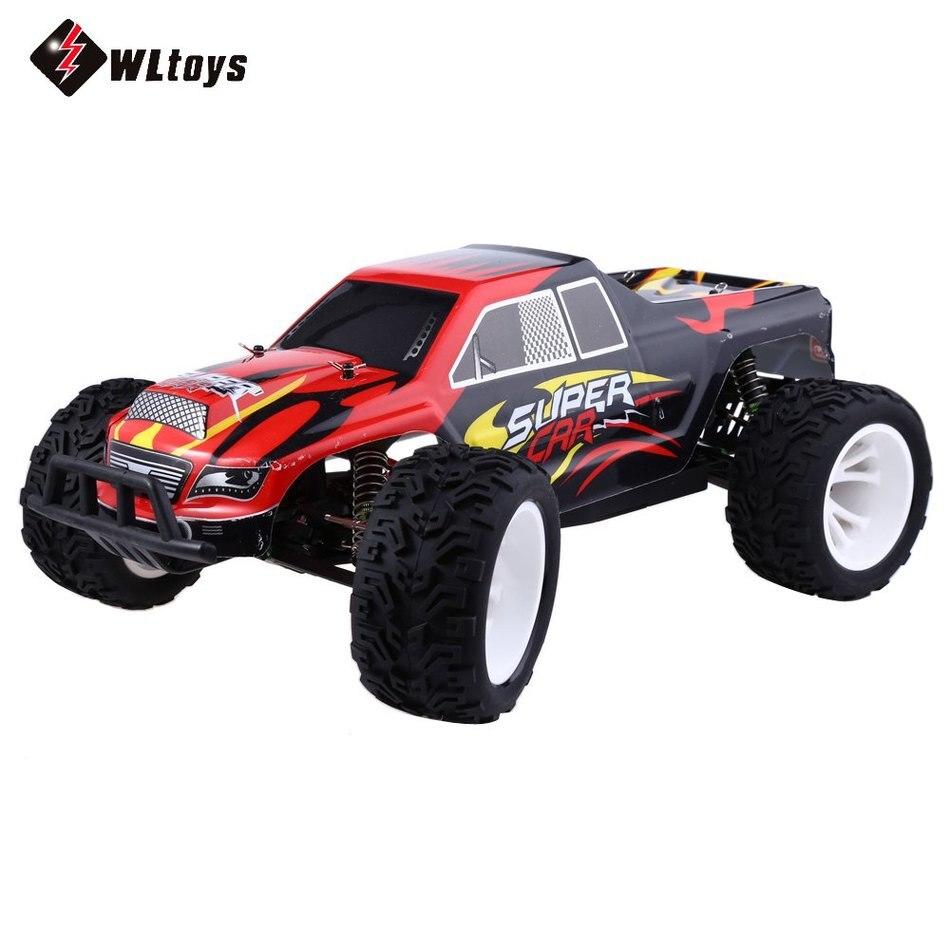 Oyuncaklar ve Hobi Ürünleri'ten RC Arabalar'de WLtoys L313 RC Arabalar 2.4 GHZ 1:10 50 KM/SAAT Özel Tasarım Elektrikli RTR RC Kros Yarışı otomobil araç'da  Grup 1