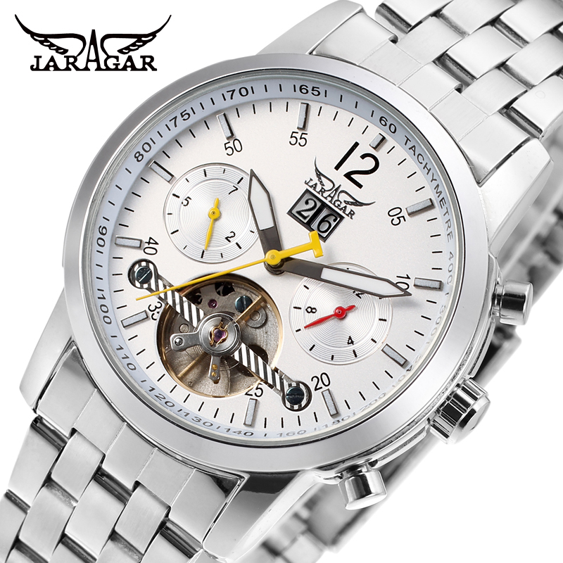 Famous Brand Jargar Automatic Watches Men Business Style Men Watch Free Shipping JAG154M4S2