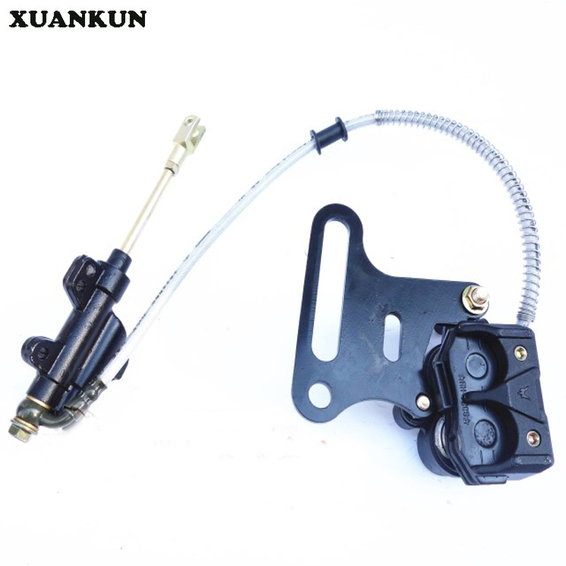 цена на XUANKUN Off - Road Motorcycle Accessories Rear Disc Brakes   Pump Brake Assembly Large Stent