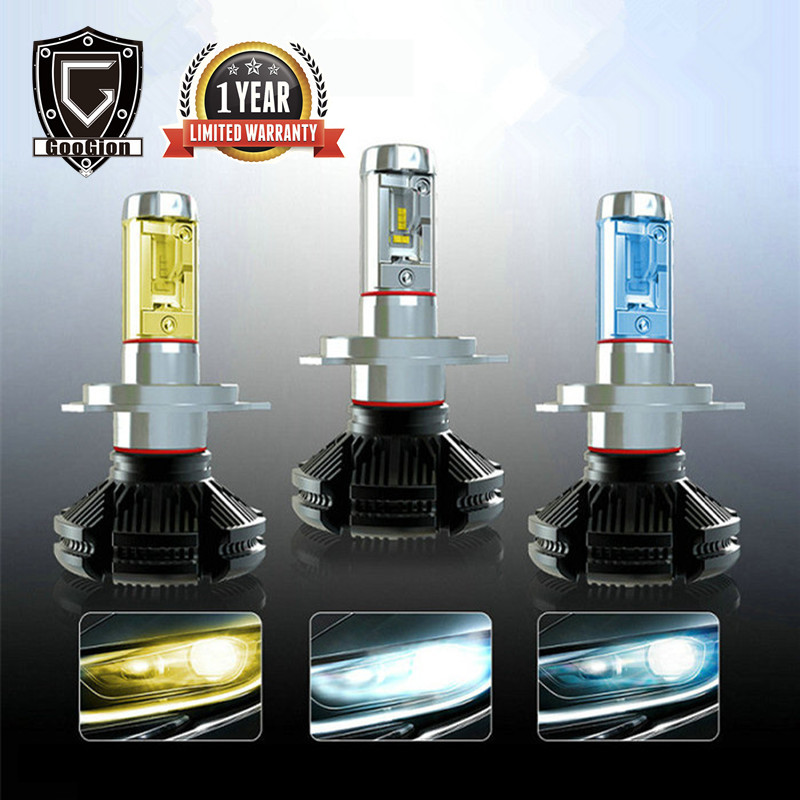 GOOGION H7 LED H4 LED Bulb LED Car Lights H1 H11 H13 9005 H3 9012 12V Car LED Headlights Bulbs Fog Lights Lamps for Cars