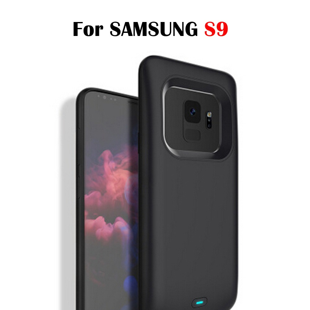 For samsung galaxy s9 plus power bank  battery case 4700mAh/5200mAh For samsung s9 For samsung galaxy s9 plus Battery BoxFor samsung galaxy s9 plus power bank  battery case 4700mAh/5200mAh For samsung s9 For samsung galaxy s9 plus Battery Box