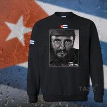 Fidel Castro President of Cuba hoodie men sweatshirt polo sweat suit hip hop streetwear tracksuit fleece 2017 casual souvenir 05