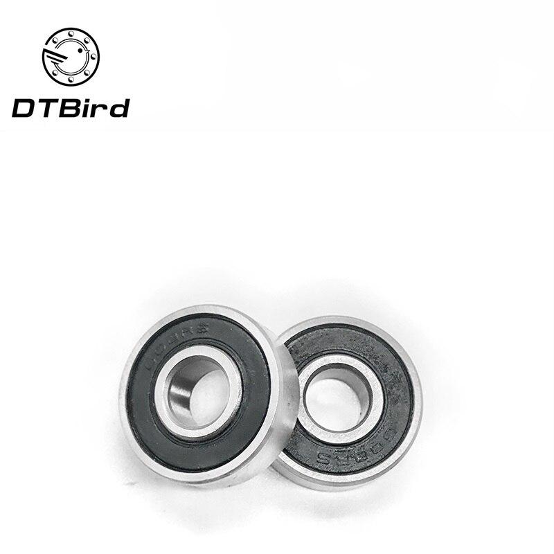 10 PCS 6x17x6 mm Flange Metal Double Shielded Ball Bearing 6*17*6 F606zz