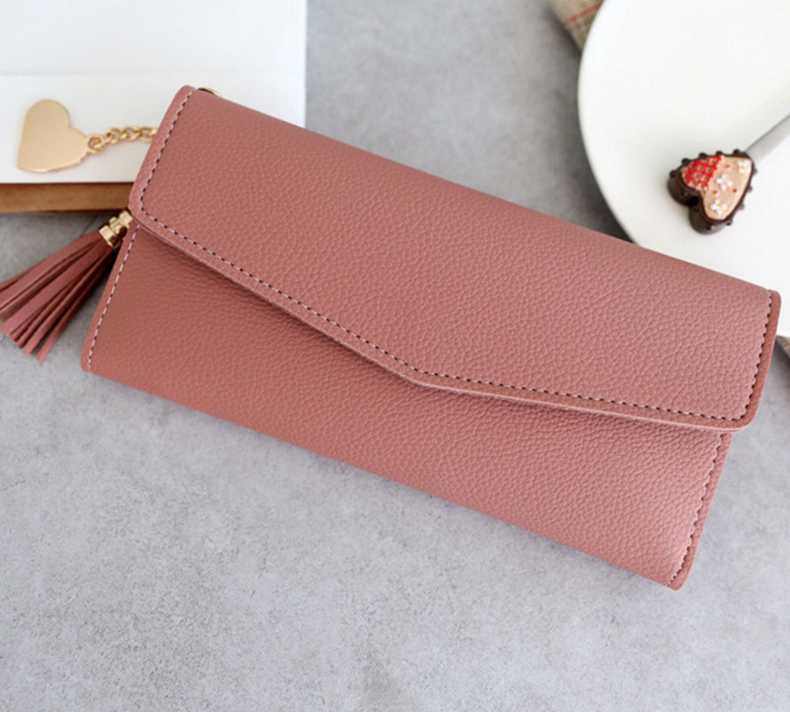 Female Wallets Phone Clutch Bag Purses Long Wallets For Girl Ladies Money Coin Pocket Card Holder Women Wallets With Tassel