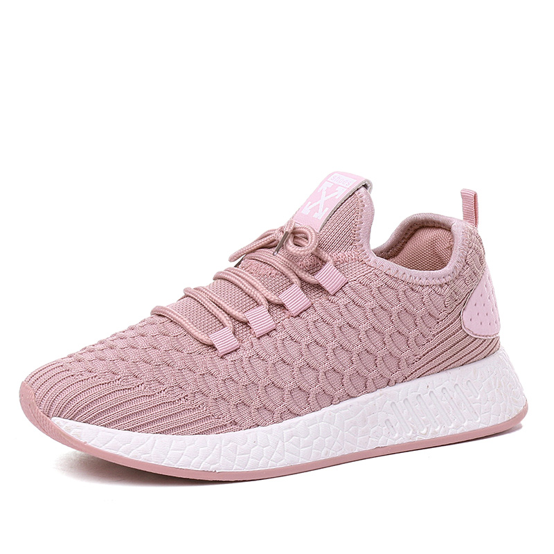 ONKE Light Breathable Mesh Woman Shoes Running Shoes Women Soft Outdoor Jogging Height Increasing Sport Sneakers Fitness Female