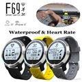 UWatch Горячие Fashional Smart Watch F69 Heart Rate Monitor Фитнес Tracker Bluetooth Смарт Наручные Часы для Android Носимых Часы