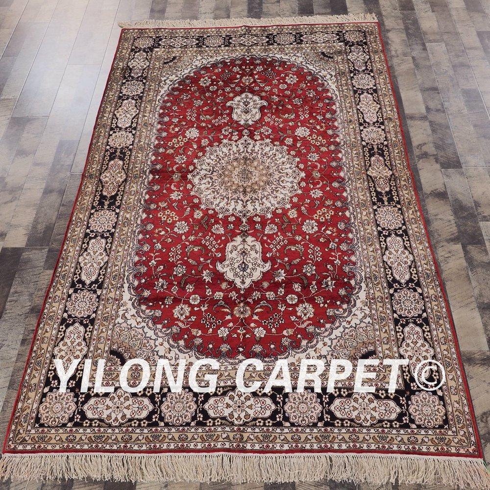 Persian Traditional Silk Carpet