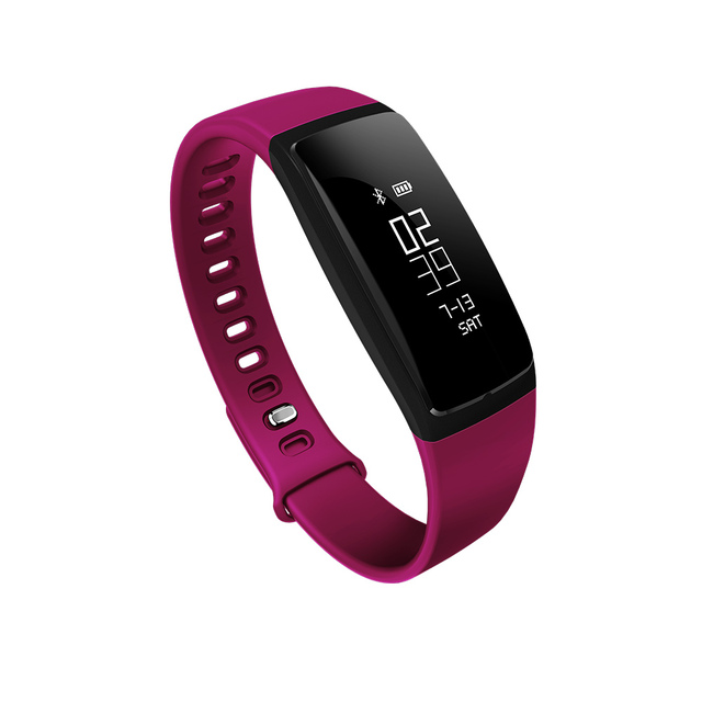 Smart Bracelet V07 Blood Pressure Heart Rate Smart Band Fitness Tracker Pedometer Bluetooth 4.0 Wristband Watch For iOS Android
