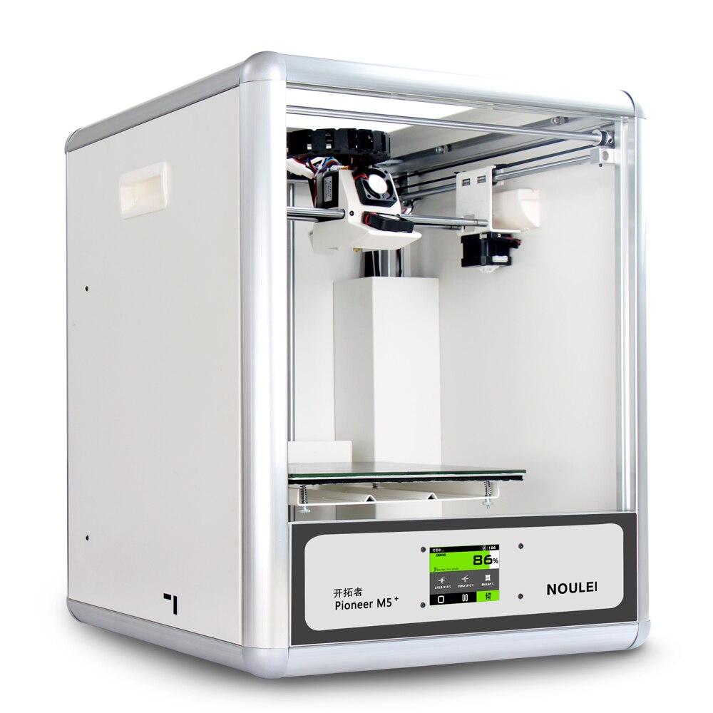 Noulei 2018 nouvelle imprimante 3D Pioneer M5, imprimante 3 D en métal haute stabilité avec écran tactile