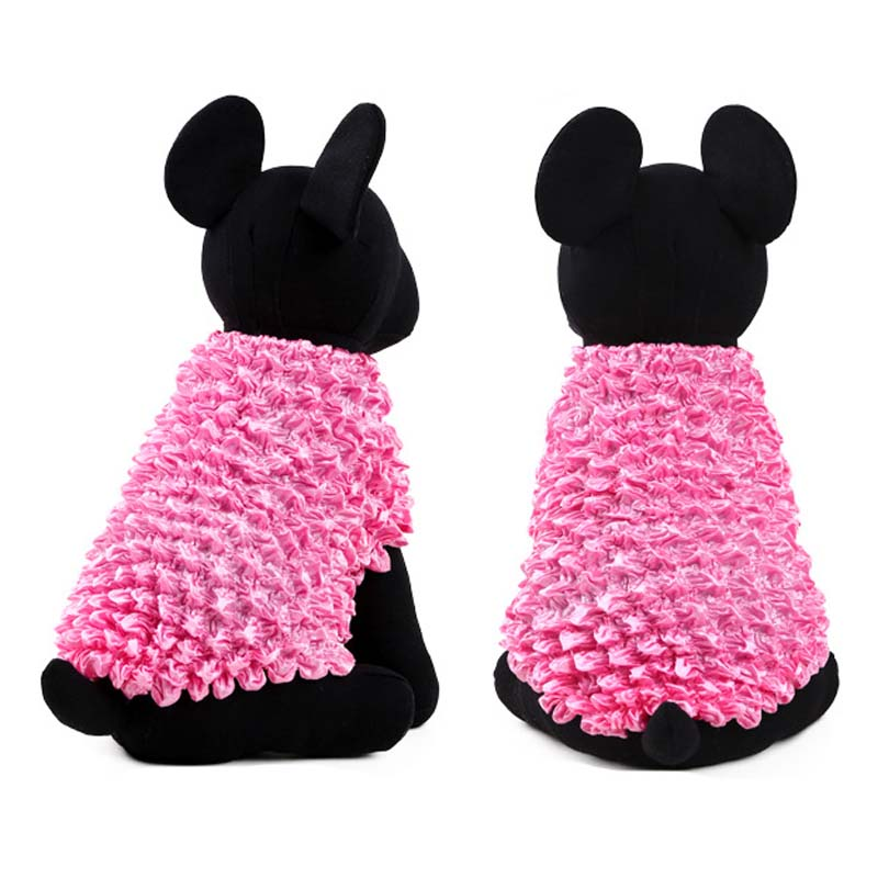 Fashion Rainbow Pet Dog Clothing Pineapple shirt Unique Magic Elastic Dogs Custme One Size Puppy Froth Vest Summer S