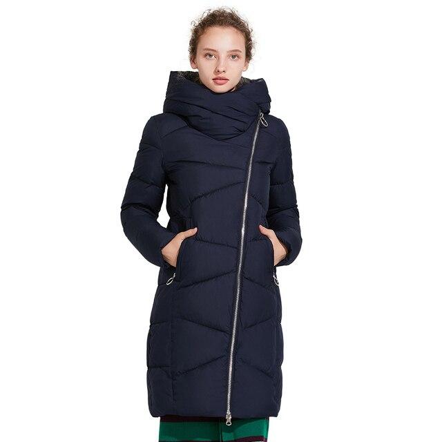 Зимняя стильная куртка ICEbear 17G6102D