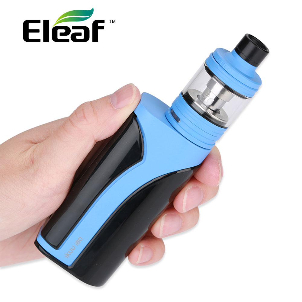 Original Eleaf iKuu i80 with 2ml/4.5ml Melo 4 TC Kit 3000mAh 80W Eleaf iKuun i80 w/ New EC2 Series Coils & Big 0.91 Inch Screen