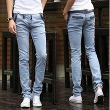 Новый дизайн прибытие марка весна и осень тонкий мужчин джинсы высокого качества моды случайные мужчины брюки Бесплатная Доставка MF9521743