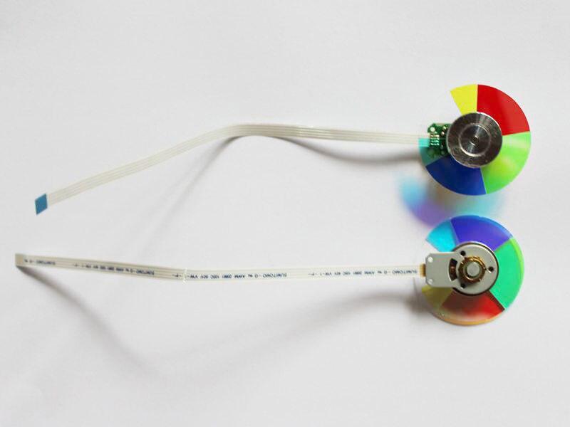 Nouveau axcessoires projecteur couleur roue pour ACER H6510BD HE 803J PE 883 E141D livraison gratuite-in Projecteur Accessoires from Electronique    1