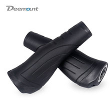 Deemount Bicycle Grips Long Short 137mm 93mm Handlebar 22.2mm Rubber Casing Sheath Hand Rest Bar End Lock Swivel Handle P8 SP8