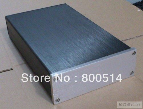 1706 Full Aluminum Enclosure / preamp case / Power amp box /PSU chassis