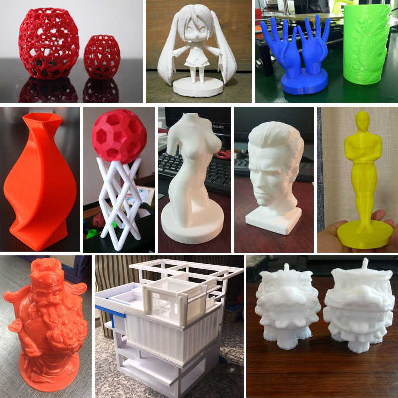 Anet A8 Plus Impresora 3D Printer Groot Formaat Printers Reprap i3 Imprimante 3D DIY Kit Met Filament Gift Sd-kaart
