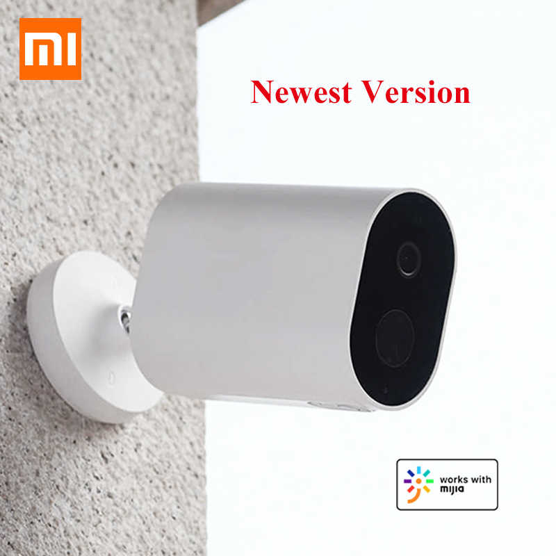 Original Xiaomi Smart Camera 1080P With Battery Gateway 120 Degree F2.6 IP65 AI Humanoid Detection WiFi IP Wireless Camera Cam