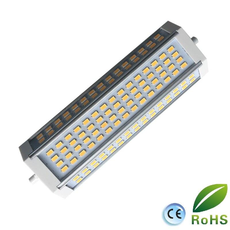 Haute puissance 50 w LED R7S lumi¨re dimmable 189mm R7S lampe avec