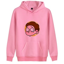 Anime Cartoon Funny Tv Rick Morty Print Mens Casual Fashion HoodieJunior Sweatsuit A193141