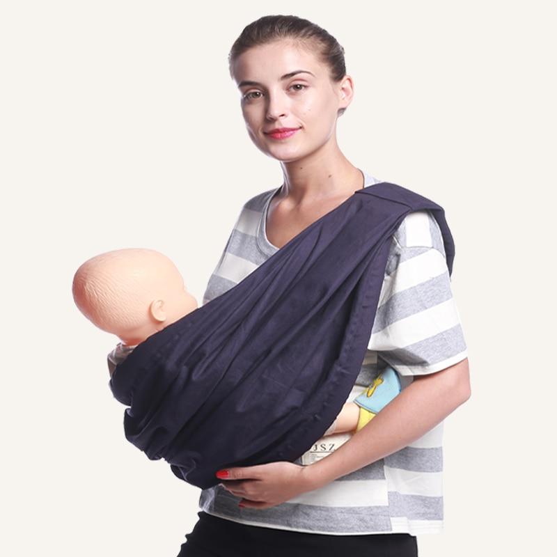 Ainomi BabaSling carrier Suspender cotton Breathable Infant Carrier Adjustable Newborn wrap Sling Backpacks Sponge Baby воблер tsuribito super shad длина 6 см вес 6 5 г 60f 058