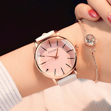 Ladies Dress Quartz Watch zegarek damski New Stylish Pink Po