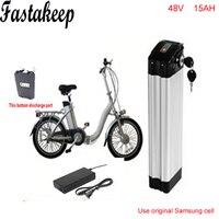 ebike 48v battery electric bike battery 48V 15Ah battery for 48v 1000w bafang/8fun 750w motor with Aluminium Case BMS Chargrer