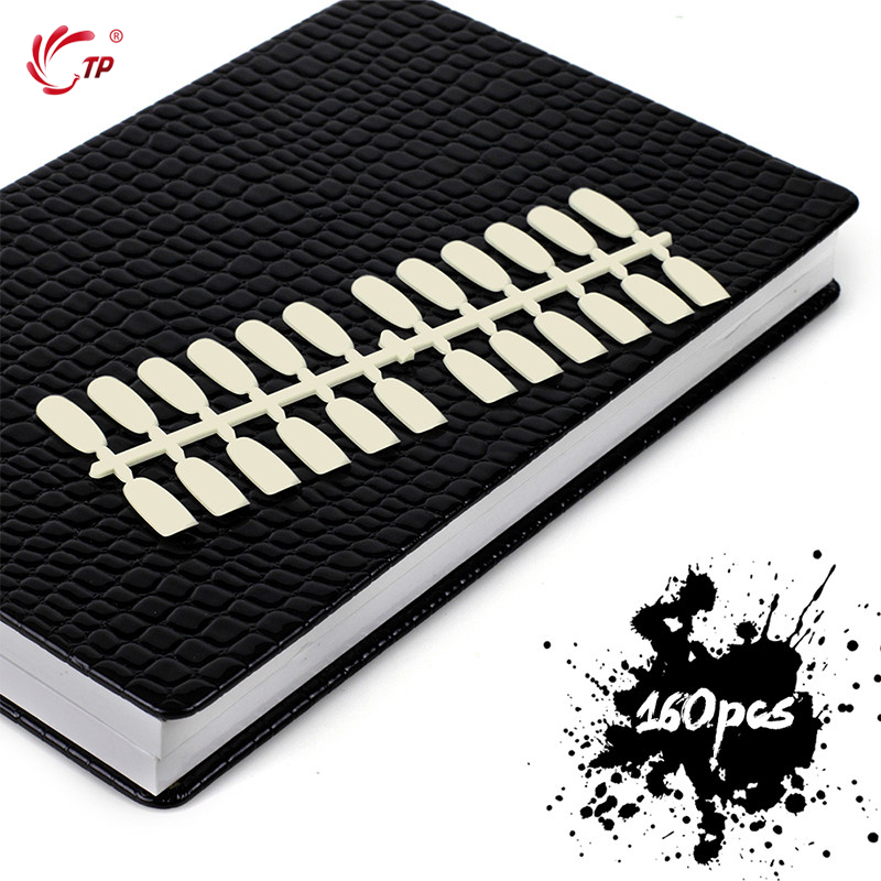 TP 160/240 Colors with 240 tips Display Card Book Professional Salon Home Artificial PU Leather Chart gel polish Model Nail ArtTP 160/240 Colors with 240 tips Display Card Book Professional Salon Home Artificial PU Leather Chart gel polish Model Nail Art