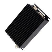 12V rs485 אלחוטי 433 משדר uart rs232 מקלט 169MHZ/235mhz uhf רדיו מודם 25W 150 mhz משדר עבור plc בקר