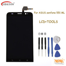 "New 5.5"" LCD Screen For Asus Zenfone 2 ZE551ML Original LCD Display +Touch Screen with Digitizer Assembly+Tools Free shipping"