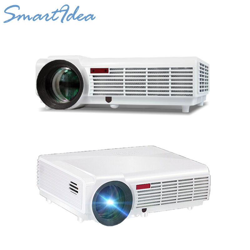 5500 Lumens Smart Lcd Tv Led Projector Full Hd Support: 5500 Lumens LED96 HD 1280*800 Lcd Tv Led Projector Digital