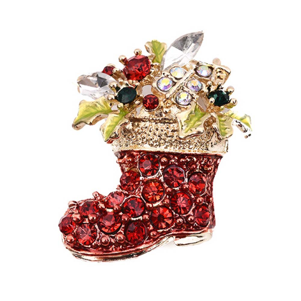 Brooches Brave High Quality Boots Brooches Funny Rhinestone Jewelry Magic Newest Classical Hot Sale Handmade Exquisite Craftsmanship;