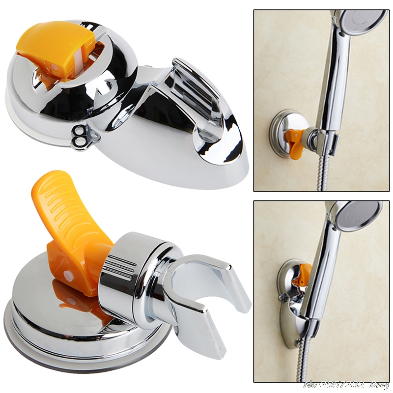 Adjustable Attachable Spray Shower Hand Head Bracket Holder Mount Suction Cup HANG_SHOP