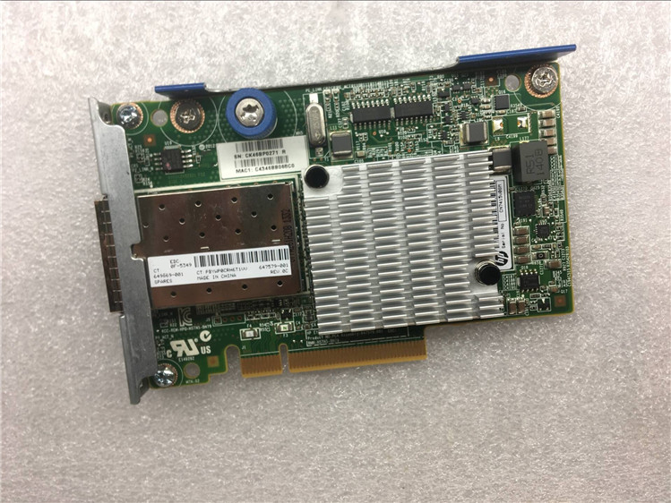 647581-B21 530FLR 649869-001 647579-001 Dual Port 10G Network Card Tested Working