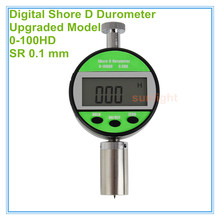 5 stks/partij Industriële Grade Digitale Shore D Rubber Durometer 0 ~ 100HD