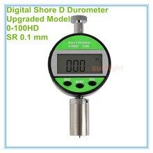 Durómetro Digital de goma 0 ~ 100HD de grado Industrial 5 unids/lote