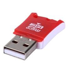 Mosunx adaptador de cartão de memória, leitor de cartão de memória com alta velocidade mini usb 2.0, micro sd tf t-flash 0307