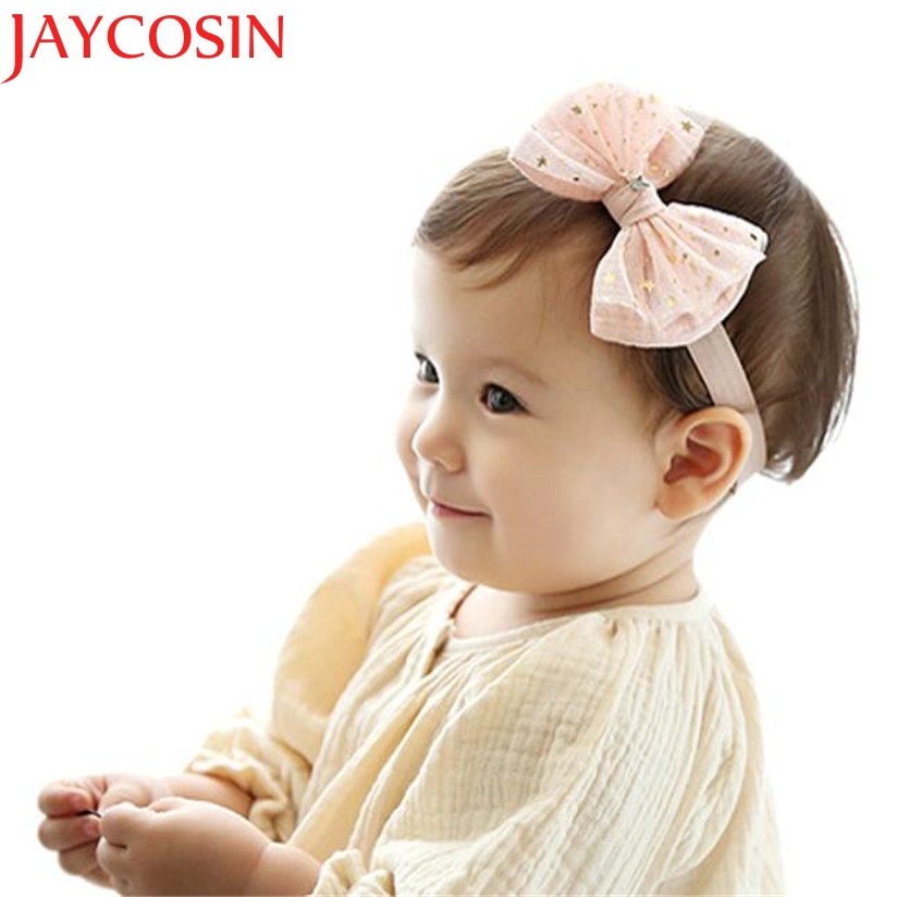 JAYCOSIN Turban Knot Head Wraps hair accessories Girl headband cute hair band newborn floral headband WJul27 drop Shipping цены онлайн