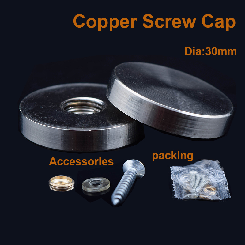 5mm diameter 2mm thickness 6x Laptop Screw Cover Lid
