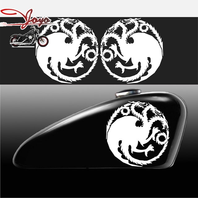 House Targaryen House Decal Sticker For Motorcycle