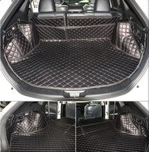 Good & Free shipping! Special trunk mats for Toyota Venza 2015-2009 durable waterproof boot carpets cargo liner for Venza 2011